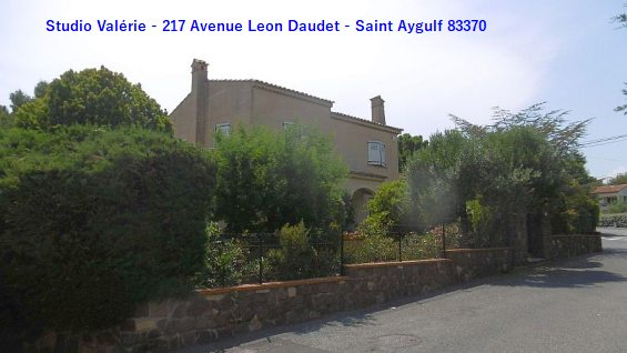 Studio Saint Aygulf 83370, 2 couchages, au calme, internet gratuit, proche centre ville